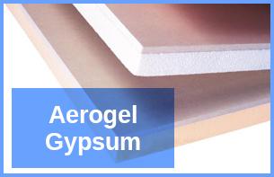 Aerogel-Gypsum