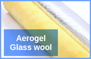 Aerogel-Glass-wool