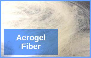 Aerogel-Fiber